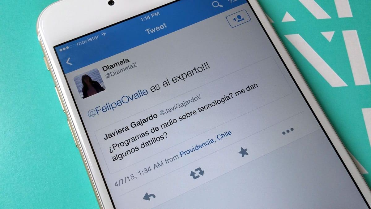 Twitter anunció la nueva función de citar tweets, a la que se accede a través del botón RT.