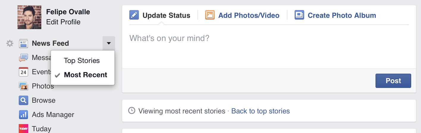 Facebook cambió los News Feed para privilegiar a los contactos más cercanos en la red social.