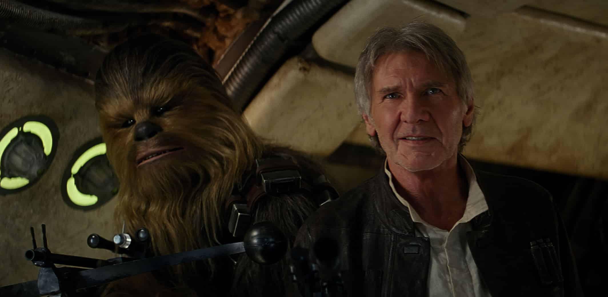 Star Wars: The Force Awakens se estrena en diciembre.