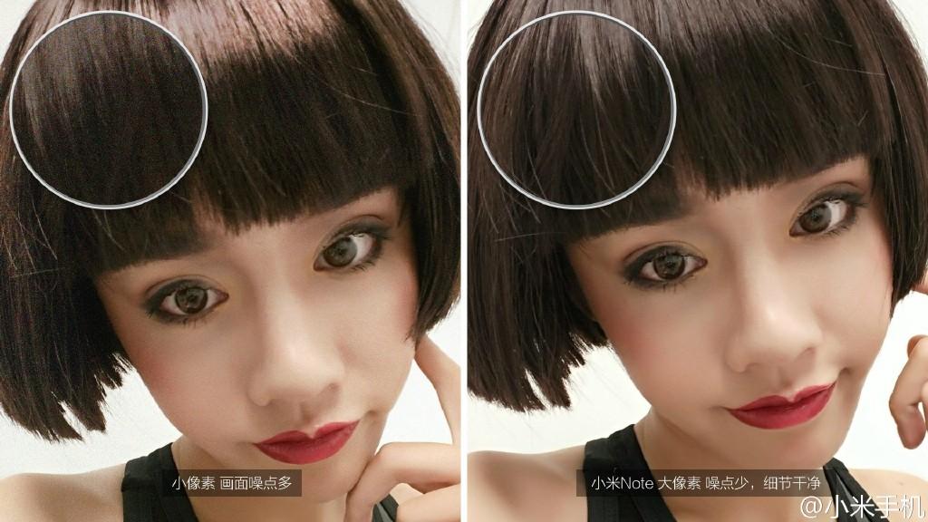 Xiaomi incorporó una función de reconocimiento facial, que permite detectar la edad y género del usuario.