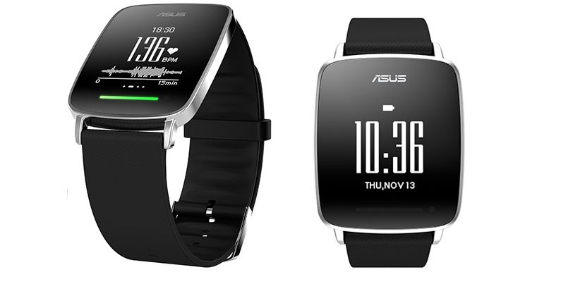 Asus VivoWatch está diseñado para personas que realizan actividad física constantemente.