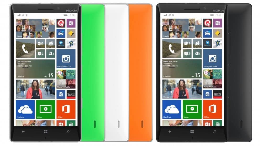 Microsoft anunció que Windows 10 no estará en el Lumia 930, uno de sus mejores smartphones.