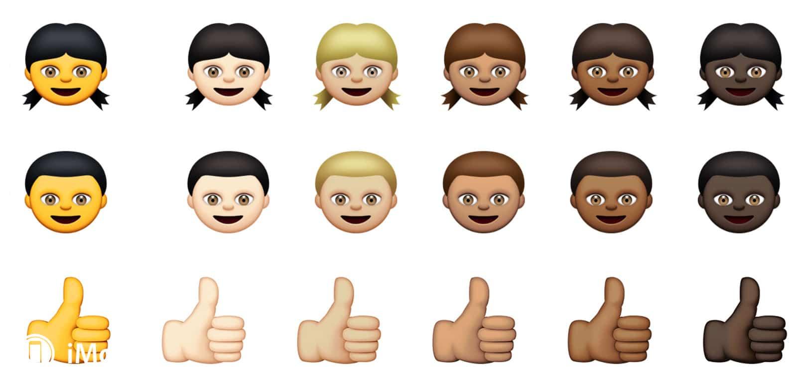 iOS 8.3 incluye 300 nuevos emoticones con una gran diversidad social y racial.