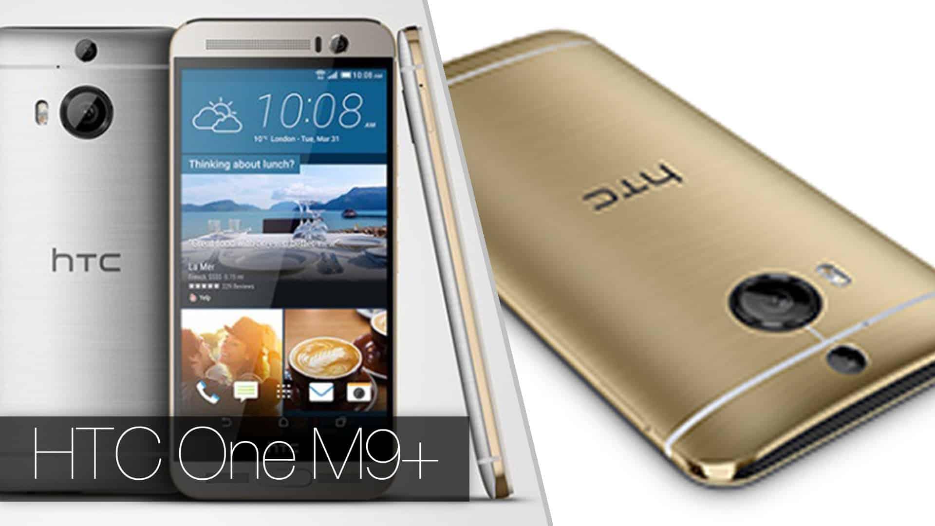 HTC One M9 Plus cuenta con conexión 4G Lte, sensor de huella dactilar y tecnología ultrapíxel en su cámara trasera.