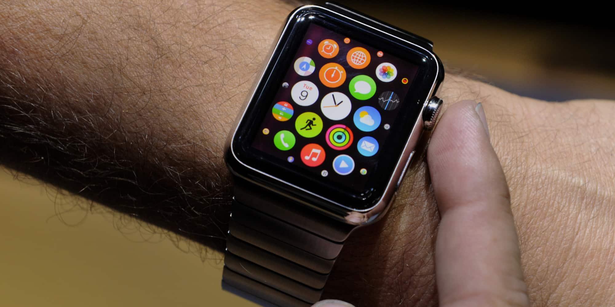 Apple Watch consiguió un millón de reservas en solo 24 horas en Estados Unidos.