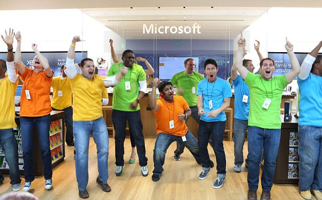 Flexibilidad laboral sería algo que los empleados de Microsoft destacan en el estudio.