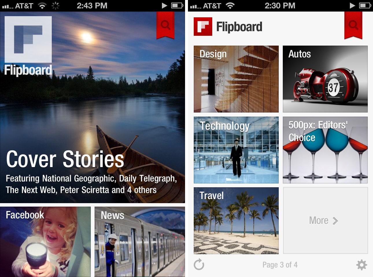Flipboard permite crear revistas digitales por lo que Twitter, Google y Yahoo! quieren comprarla.