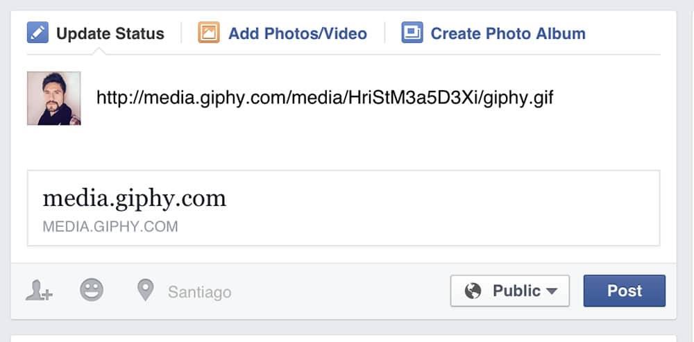 Insertar GIF animado Facebook OhMyGeek 02