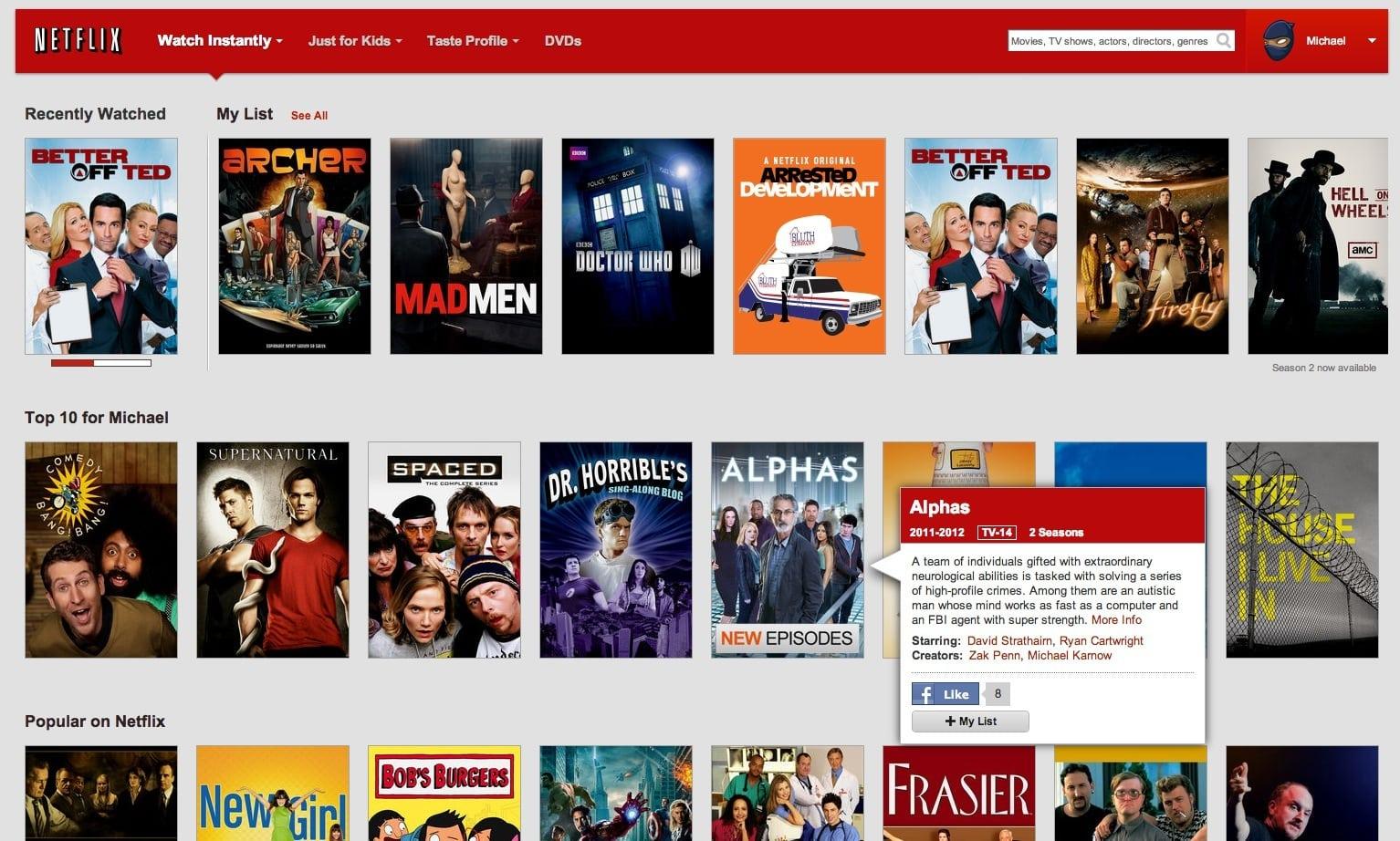 Netflix está pensando en agregar eventos deportivos a sus contenidos, pero alto costo es la principal traba.
