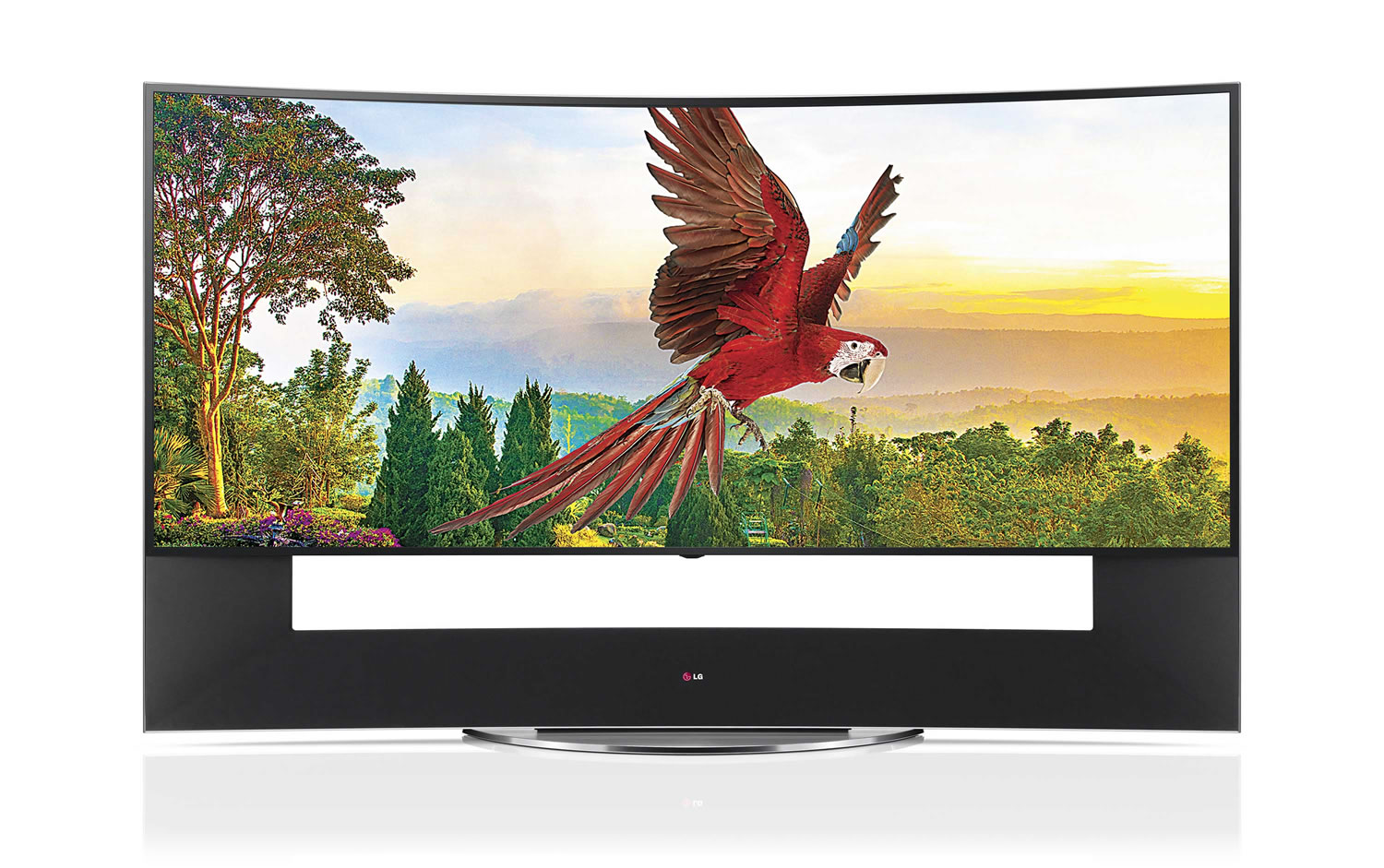 TV Curvo Ultra HD 5K LG 105UC9.