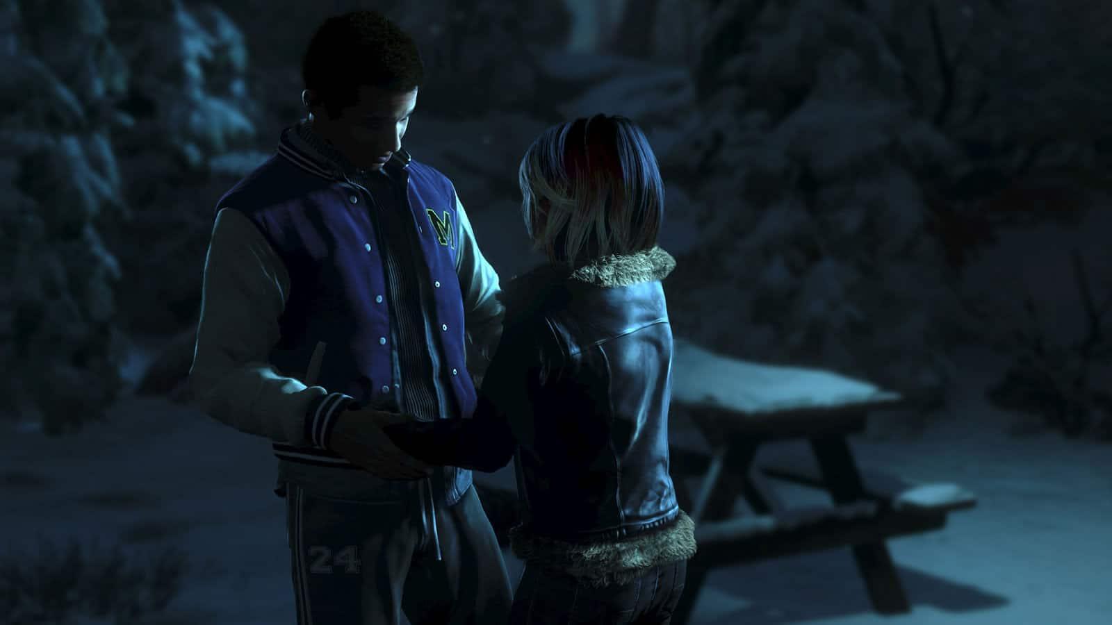 Until Dawn para PS4.