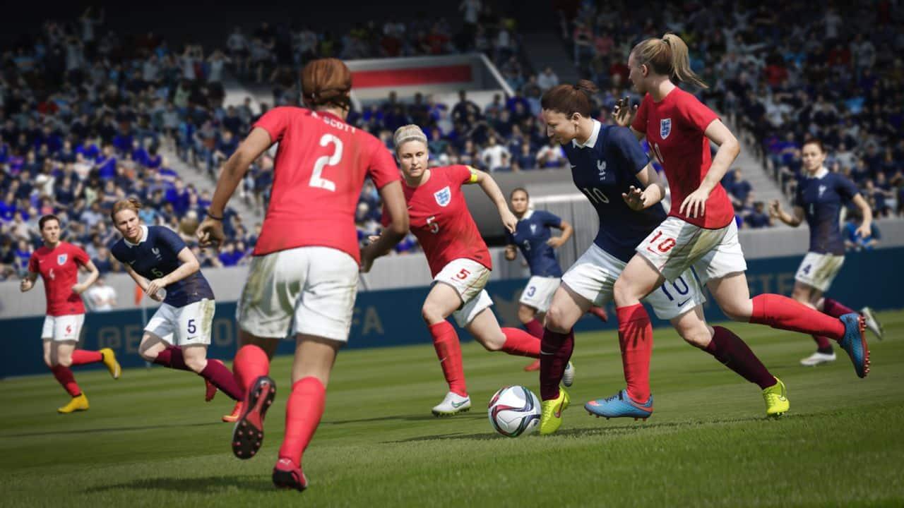 FIFA 16 se convertirá en el primero de la franquicia que tendrá selecciones femeninas.