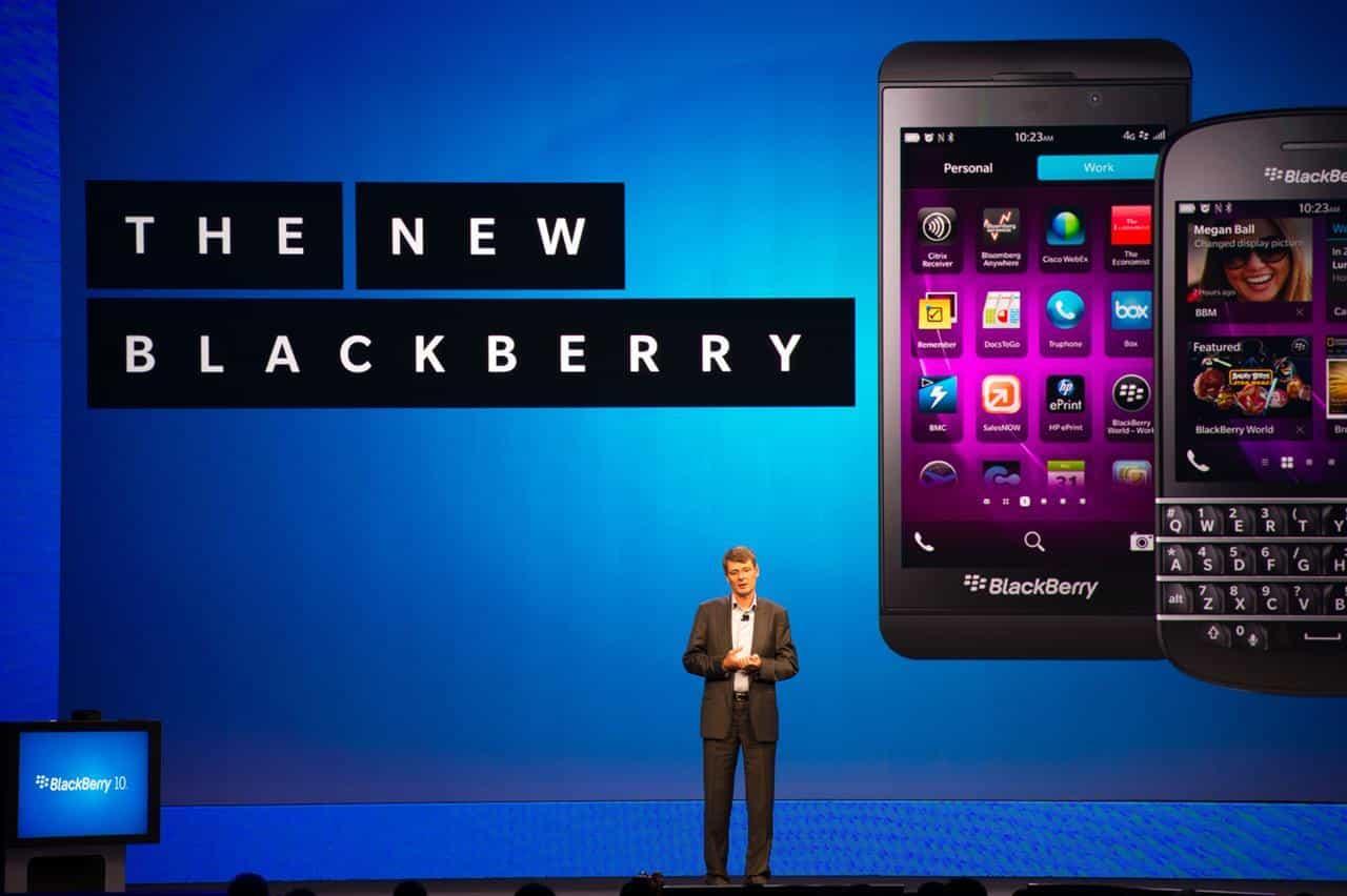 Empresas como Microsoft o Huawei estarían interesadas en adquirir Blackberry.