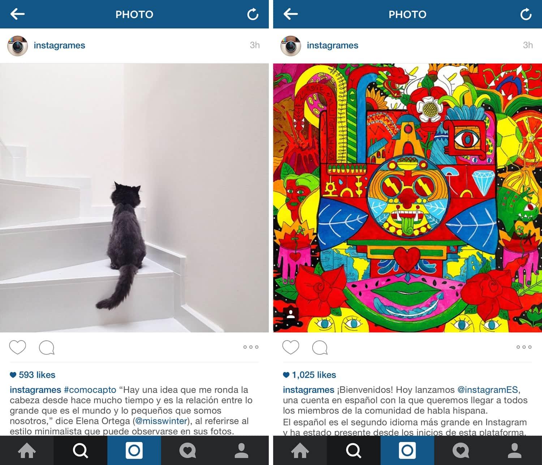 InstagramES ya está activa y publicando contenidos.