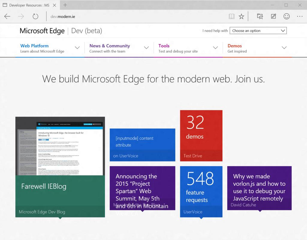 Microsoft Edge no será de código abierto para que usuarios puedan realizar modificaciones.