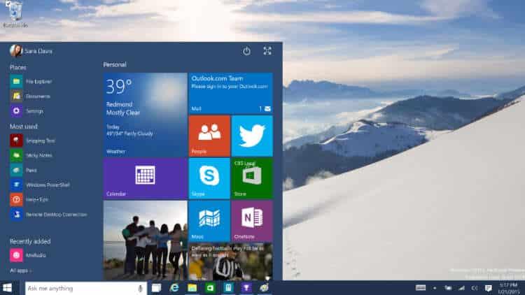 Windows 10 contará con versiones para escritorio, móviles, empresas, educación  y rendimiendo del equipo.