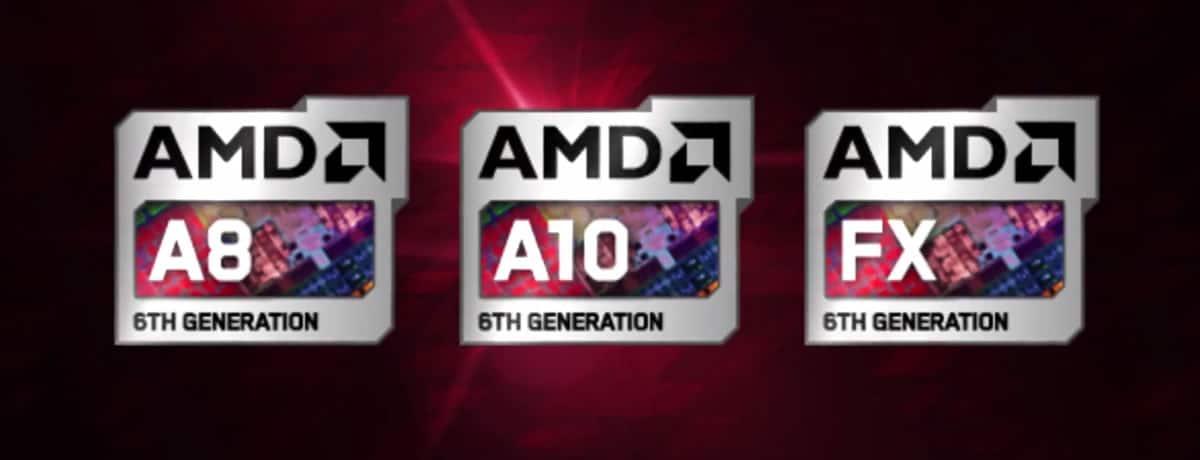 AMD Carrizo 6 gen Serie A