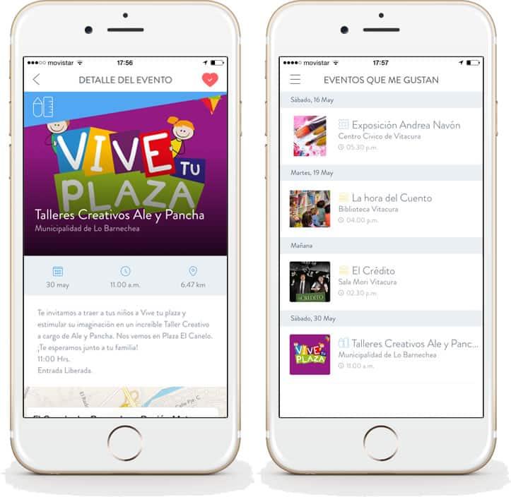 AppCity en iOS.