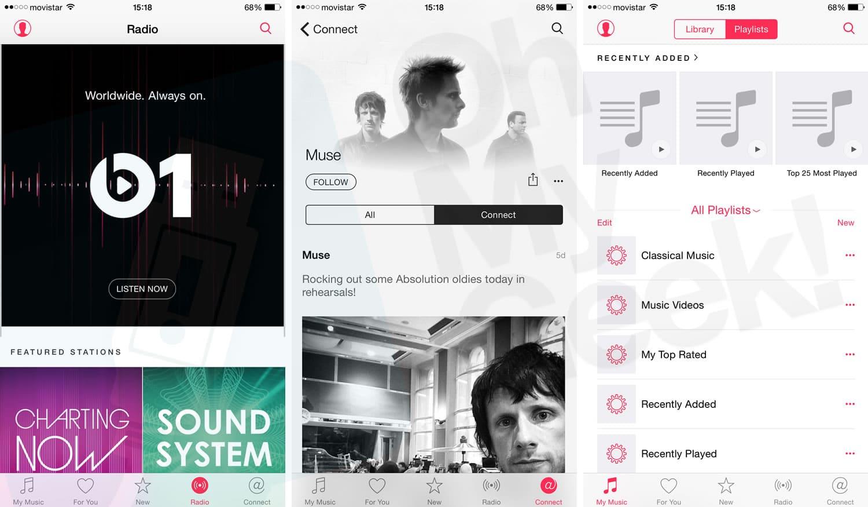 iOS 8.4: Radios y servicio social son gratuitos en Apple Music.