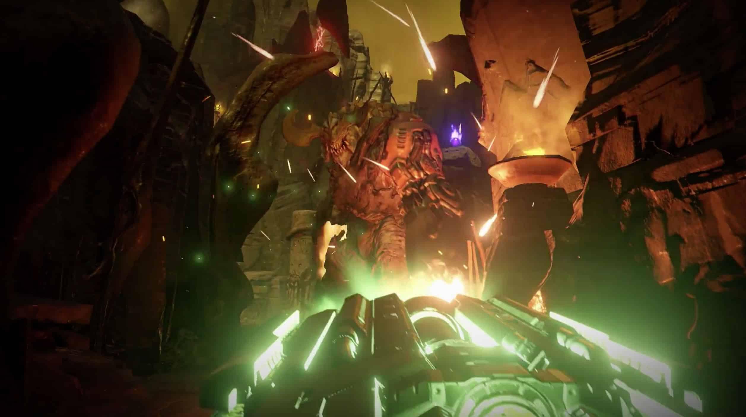 ¿Nostálgico por DOOM? Cyberdemon estará de regreso y lucharás contra él con una BFG.