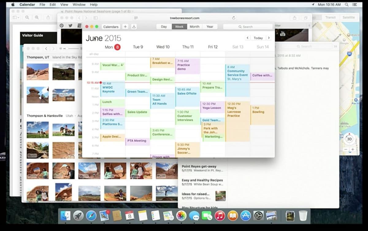 Para OS X El Capitan, Apple promete concentrarse en el rendimiento y experiencia.