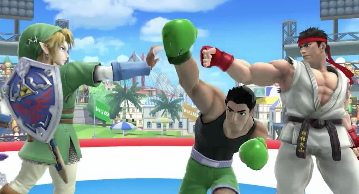 "Ryu comparte ring con Link y ""Little Mac""."