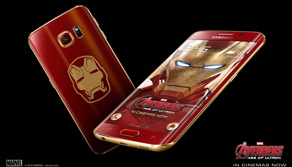 Samsung Galaxy S6 edge Iron Man Edition 02