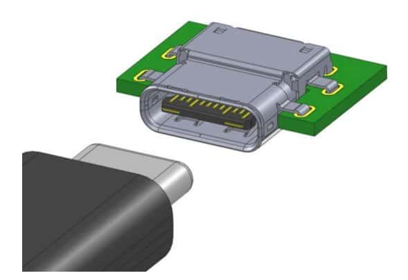 El conector USB Tipo C es reversible como el Lightning de Apple.