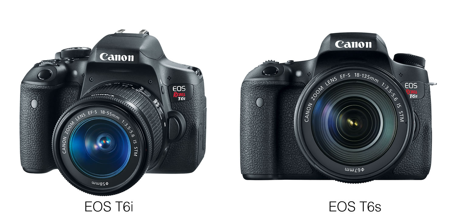 Canon T6i y T6s EOS