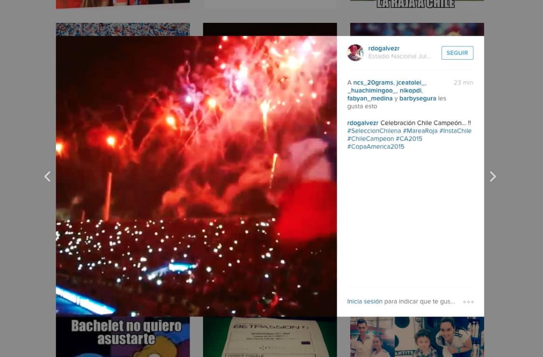 Durante la Copa América, 185 millones de interacciones se generaron en Instagram.