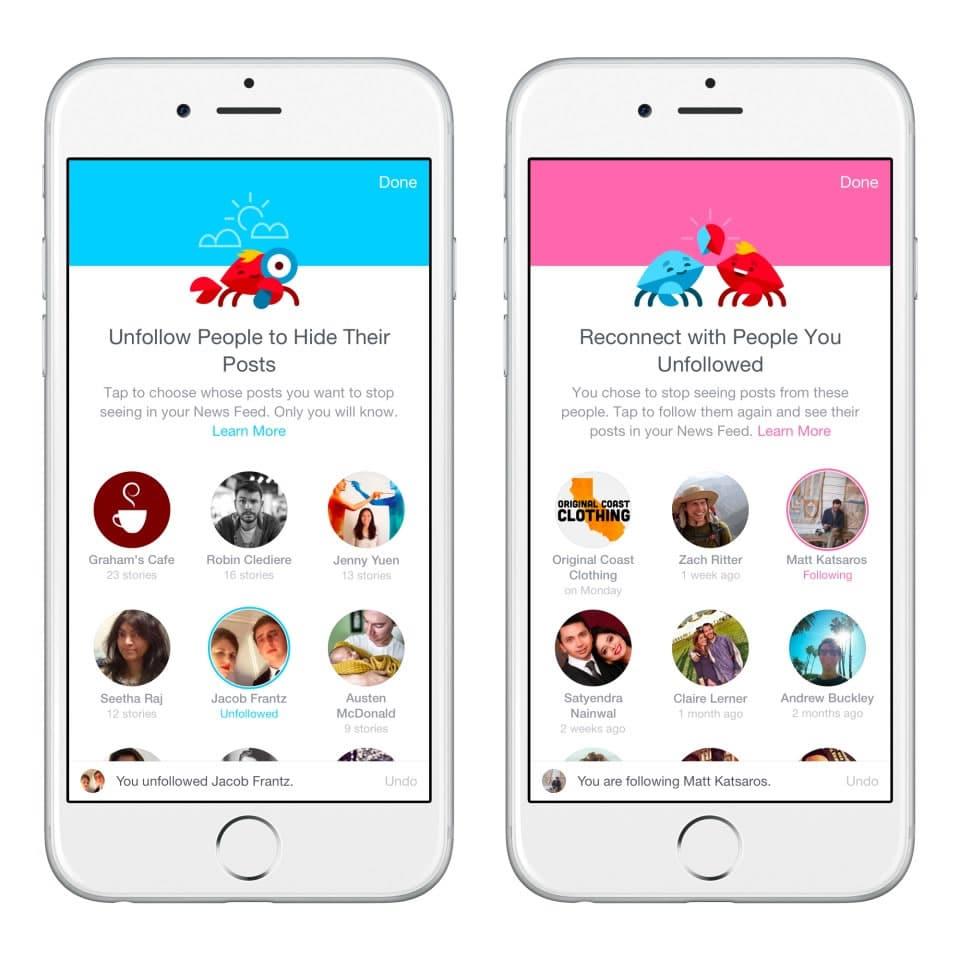 En iOS ya está activada la opción para elegir qué amigos ves primero en el News Feed.