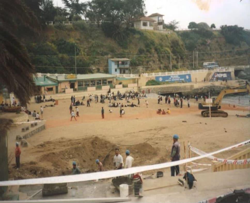 La llegada del cable  SAC en Chile sucedió en octubre del 2000.