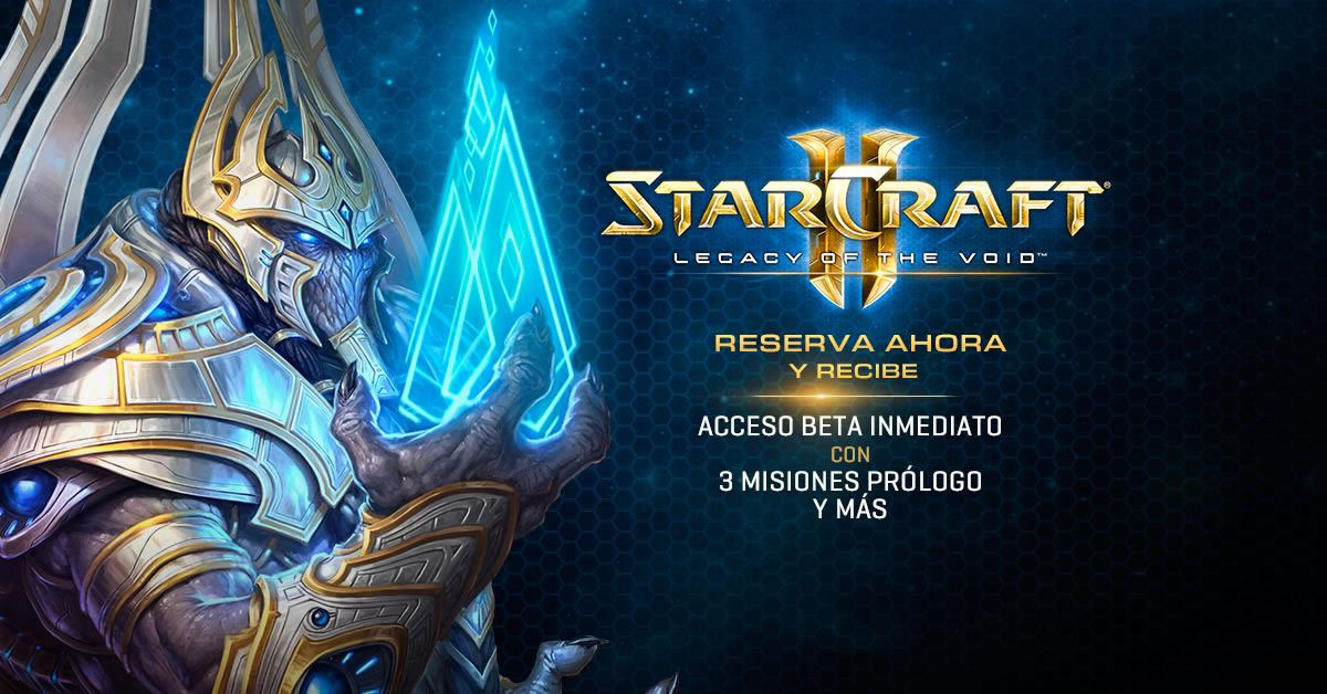 StarCraft Legacy of the Void Reserva