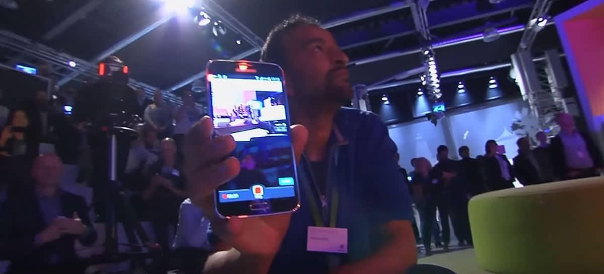 Streamr en su presentación, tuvo una demostración con un servidor local.