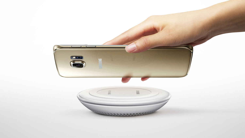 Carga inalámbrica Galaxy S6 edge+