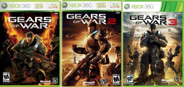 Gears of War, GOW 2, GOW 3 o GOW: Judgment para Xbox 360, podrás jugarlos en tu XBOX One.
