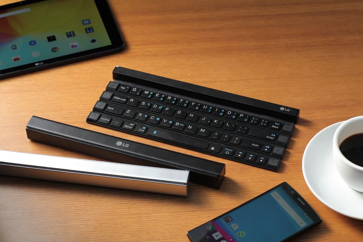 LG Rolly Keyboard debería llegar a Latinoamérica entre octubre y diciembre.