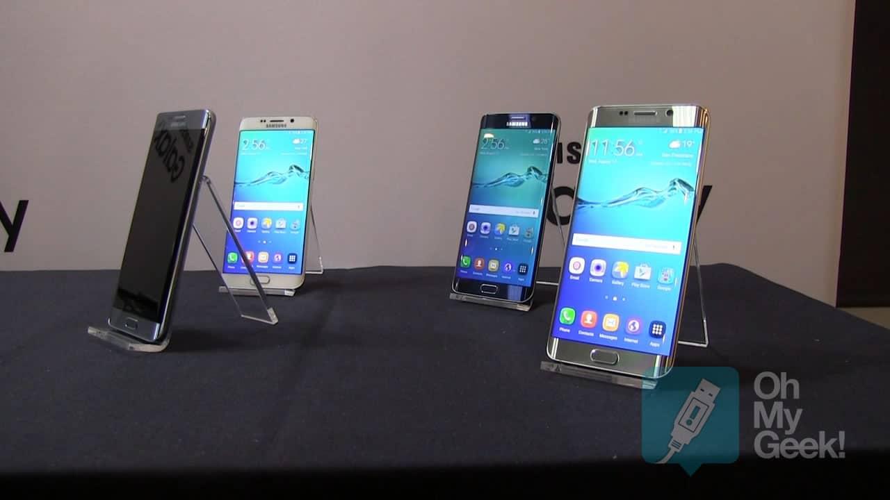 Por ahora en Chile sólo se venderá la versión negro y dorado del Galaxy S6 edge+.