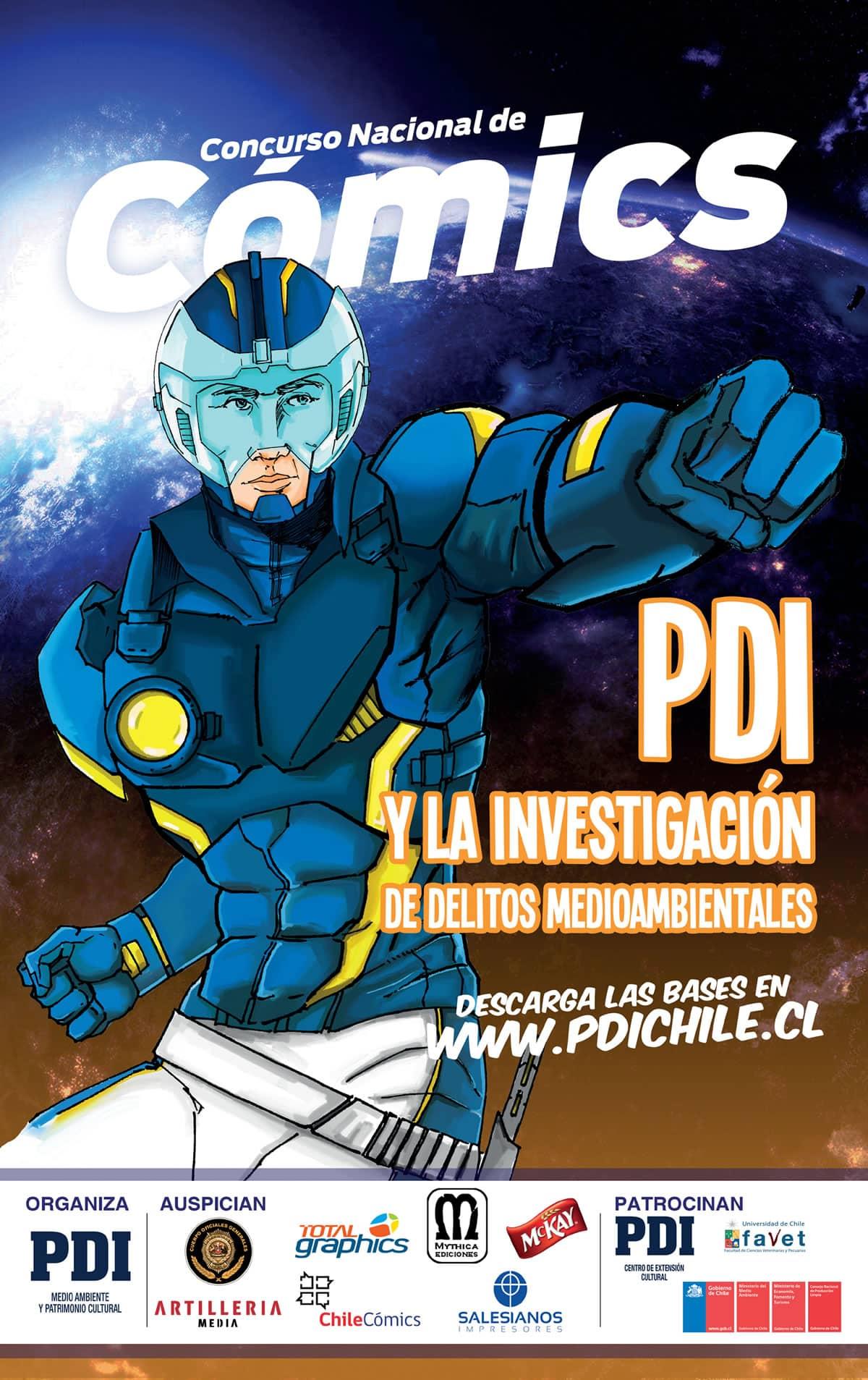 concurso comics PDI medioambiente