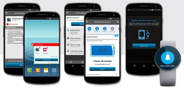 McAfee Mobile Security se descarga gratis desde la tienda de aplicaciones de Android.