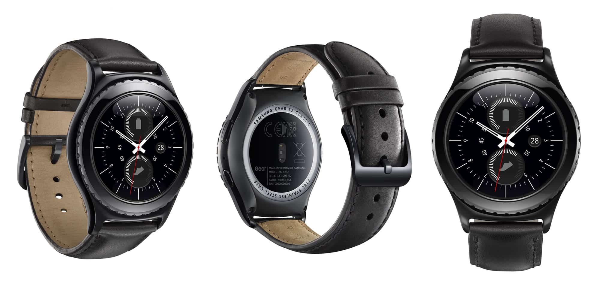Samsung Gear S2 Classic.