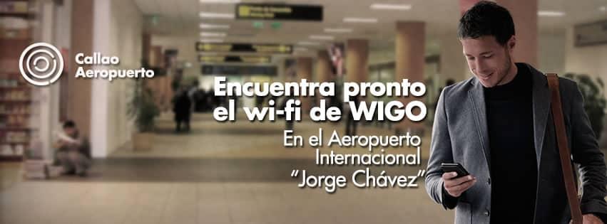 WIGO provee Internet público e inalámbrico en distintos puntos del Perú.