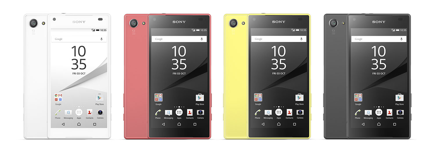 Sony Mobile Xperia Z5 Compact.