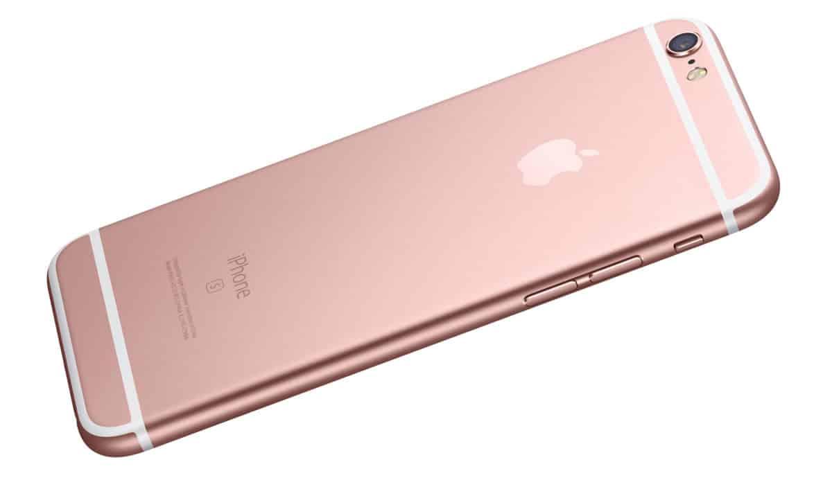 Los nuevos iPhone 6S y iPhone 6S Plus presentan un nuevo color.