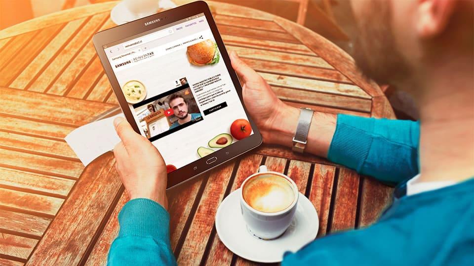 Samsung Galaxy Tab S2 - REINVENTAB