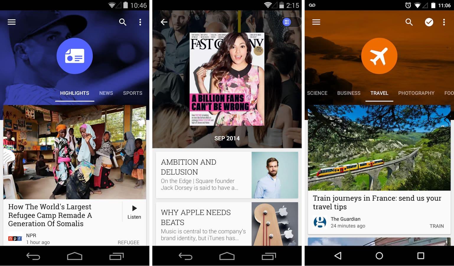 Google Play Kiosco.