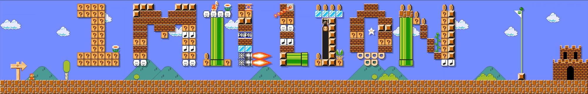 Super Mario Maker 1 millon ventas