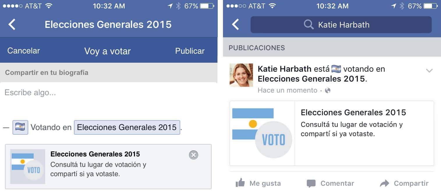 argentina elecciones 2015 facebook