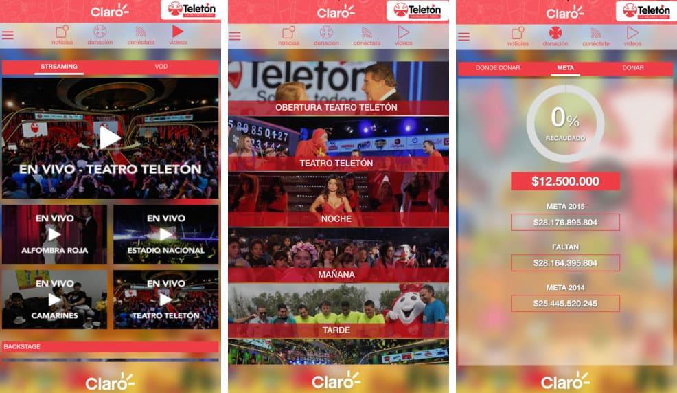 Aplicatón, la App oficial de Teletón 2015.