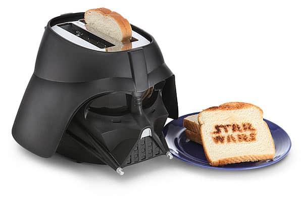 Tostador de Darth Vader.